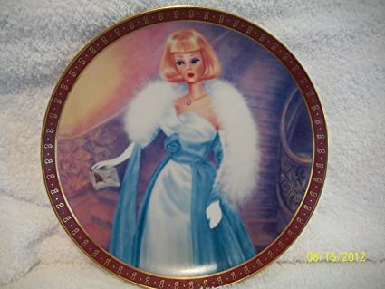 Danbury Mint High Fashion Barbie Plates The Barbie Debutante Ball