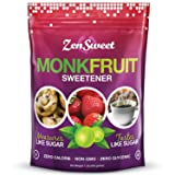 ZenSweet- All Natural Monk Fruit Sugar-Free Sweetener - Zero Glycemic Index - Gluten Free - Non GMO 1 Lb (Tamaño: 1 Bag)