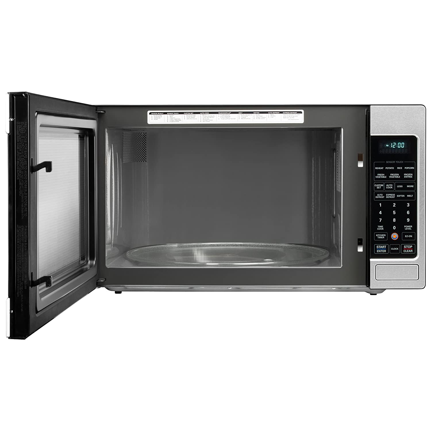 Lg Lcrt2010st 2 0 Cu Ft Counter Top Microwave Oven With True Cook Plus And Ez Clean Oven