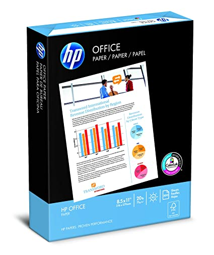 500 Sheets HP Ultra White Printer Paper