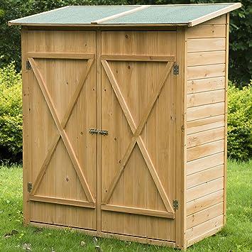 Meubles rangement jardin bois - Meuble de rangement bricolage ...