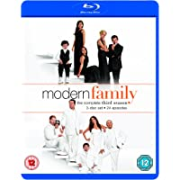 Modern Family: The Complete Third Season 3 Blu-ray Discs