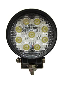 27W LED Work Light Magnetic Base Offroad Floodlight Truck 4x4 3M Extension Cable