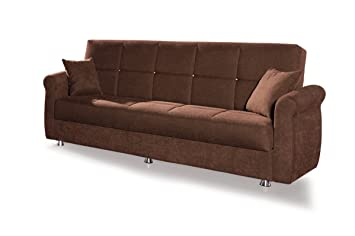 """Sofa bed 3 seater """"Brianna Lux"""" with storage compartment"""