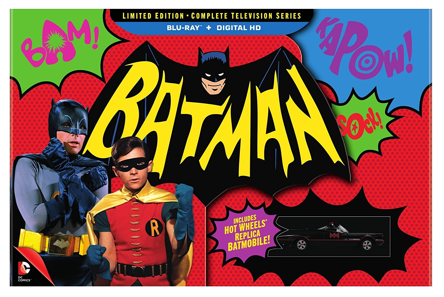 Batman The Complete Television Series Limited Edition Blu-ray