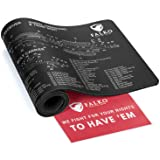 Gun Cleaning Mat ( Long ) - Double Thickness Extra Protective Pad By Falko