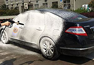 GDHXW X-666 Foam Cannon Adjustable With 1/4 Quick Connector Foam Blaster for Pressure Washer Gun Car Pressure Washer