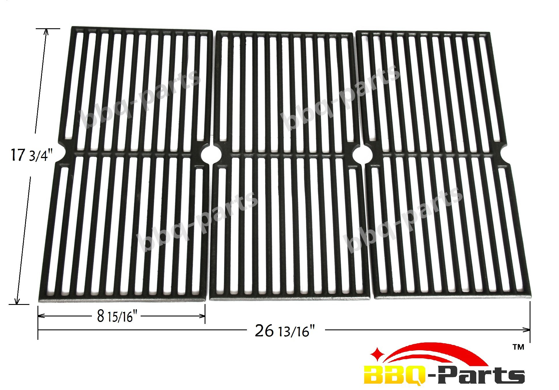 Pcd103 Universal Gas Grill Grate Cast Iron Cooking Grid