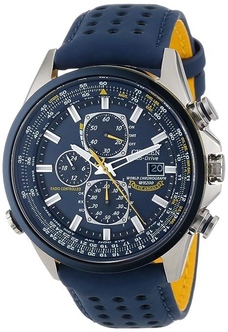 "Citizen西铁城 Amazon特价汇总:Citizen Men's AT8020-03L ""Blue Angels World A-T"" Eco-Drive Watch西铁城蓝天使光动能世界时间腕表-奢品汇 | 海淘手表 | 腕表资讯"