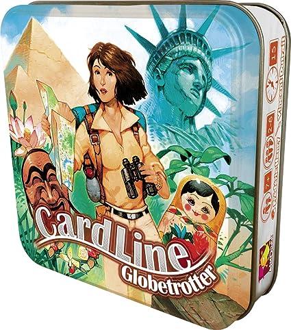 Asmodee - CARGEO01 - Cardline Globetrotter - Jeu de Cartes