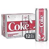 Diet Coke Strawberry Guava Soft Drink, 12 fl oz (Pack of 8)