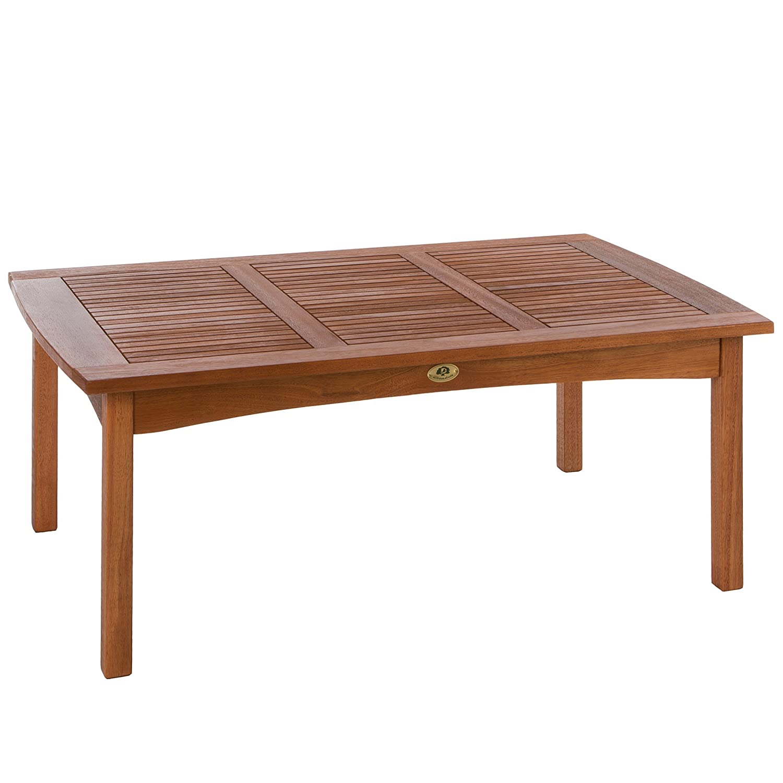 Ultranatura Loungetisch, Canberra Serie – Edles & Hochwertiges Eukalyptusholz FSC zertifiziert – 110 cm x 70 cm x 47 cm bestellen
