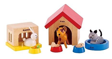 Hape - Happy Family Doll House - Furniture - Family
