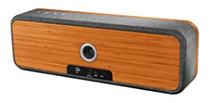 """House of Marley, Get Together Bluetooth Portable Audio System -  3.5"""" Woofer & 1 Tweeters, 30m Wireless Range, 8 hour Playtime,Built In Battery, Sustainably Crafted, EM-JA006MI Midnight"""