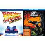 Complete Dino & Time Adventures Back to the Future Trilogy Movie & Animated Series + Jurassic World & Park 5 Films Fallen Kingdom / Lost World Mega Blu Ray Pack