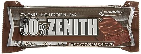 Ironmaxx Zenith Riegel Schokolade 12 x 100g, 1er Pack (1 x 1.2 kg)