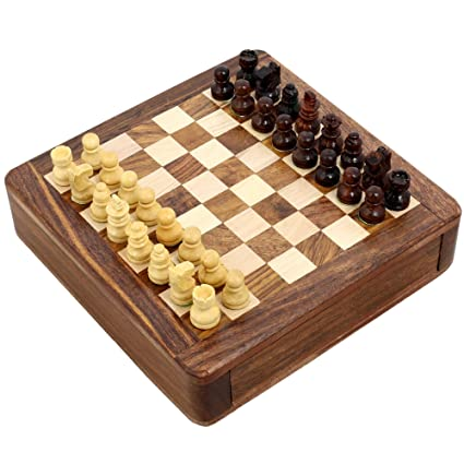 ENSEMBLE DE 24 - magnétiques jeux d'échecs et de société Jouets en bois et jeux 12 x 12 cm Jeux de voyage