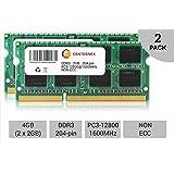 4GB KIT 2 x 2GB Dell Vostro 3350 3450 3550 3555 3560 360 3750 V131 Ram Memory by CENTERNEX (Tamaño: 4 Gb)