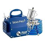 Fuji 2203G Semi-PRO 2 - Gravity HVLP Spray System, Blue (Color: Blue)