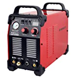 HeroCut Plasma CAT520D HF-Touch Cut/Tig/Stick 3 in 1 Combo Welding Machine, 14mm Clean Cut (Color: Red)
