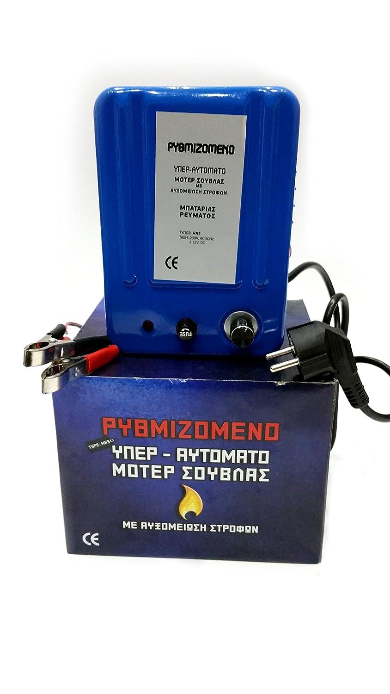 Grillmotor blau regelbar 1-15U/min für Lamm oder Spanferkel jetzt bestellen