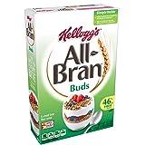Kellogg's All-Bran Buds, Breakfast Cereal, Wheat Bran, Excellent Source of Fiber, 17.7 oz Box