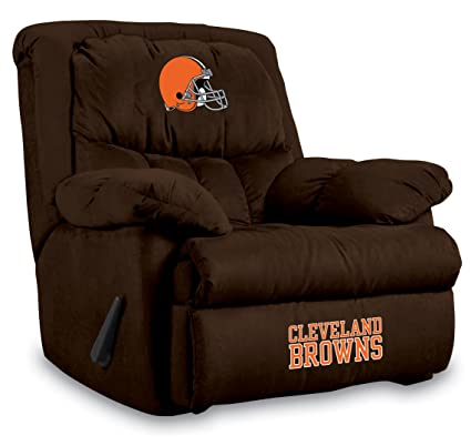 NFL Cleveland Browns Home Team Microfiber Recliner