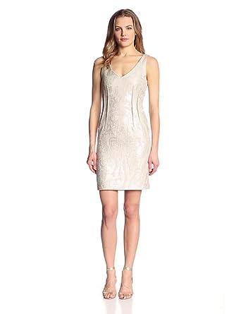 Amy Matto Women's Madden Dress, Neutral, 10
