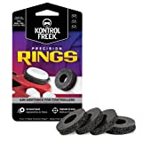 KontrolFreek Precision Rings | Aim Assist Motion Control for PlayStation 4 (PS4), Xbox One, Switch Pro and Scuf Controller (Color: Black)