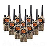 Midland GXT1050VP4 36-Mile JIS4 Waterproof 50-Channel FRS/GMRS Two-Way Camo Radio (10 Pack) (Tamaño: 10 Pack)