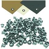 Mil-Spec Kydex Eyelets GS 8-8, Brass Black Oxide 1/4