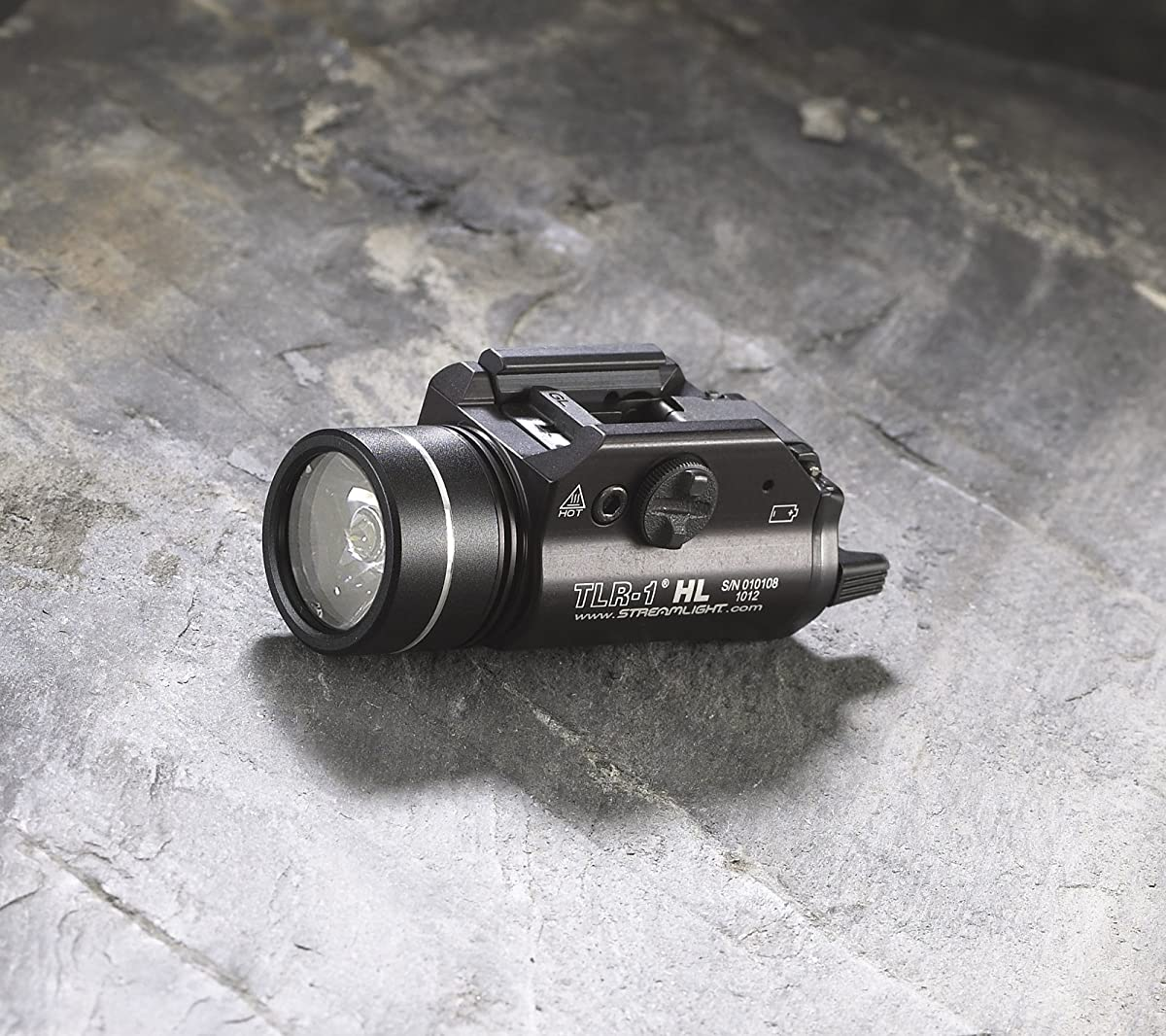 Streamlight 69260 TLR-1 HL Weapon Mount Tactical Flashlight Light 800 Lumens with Strobe