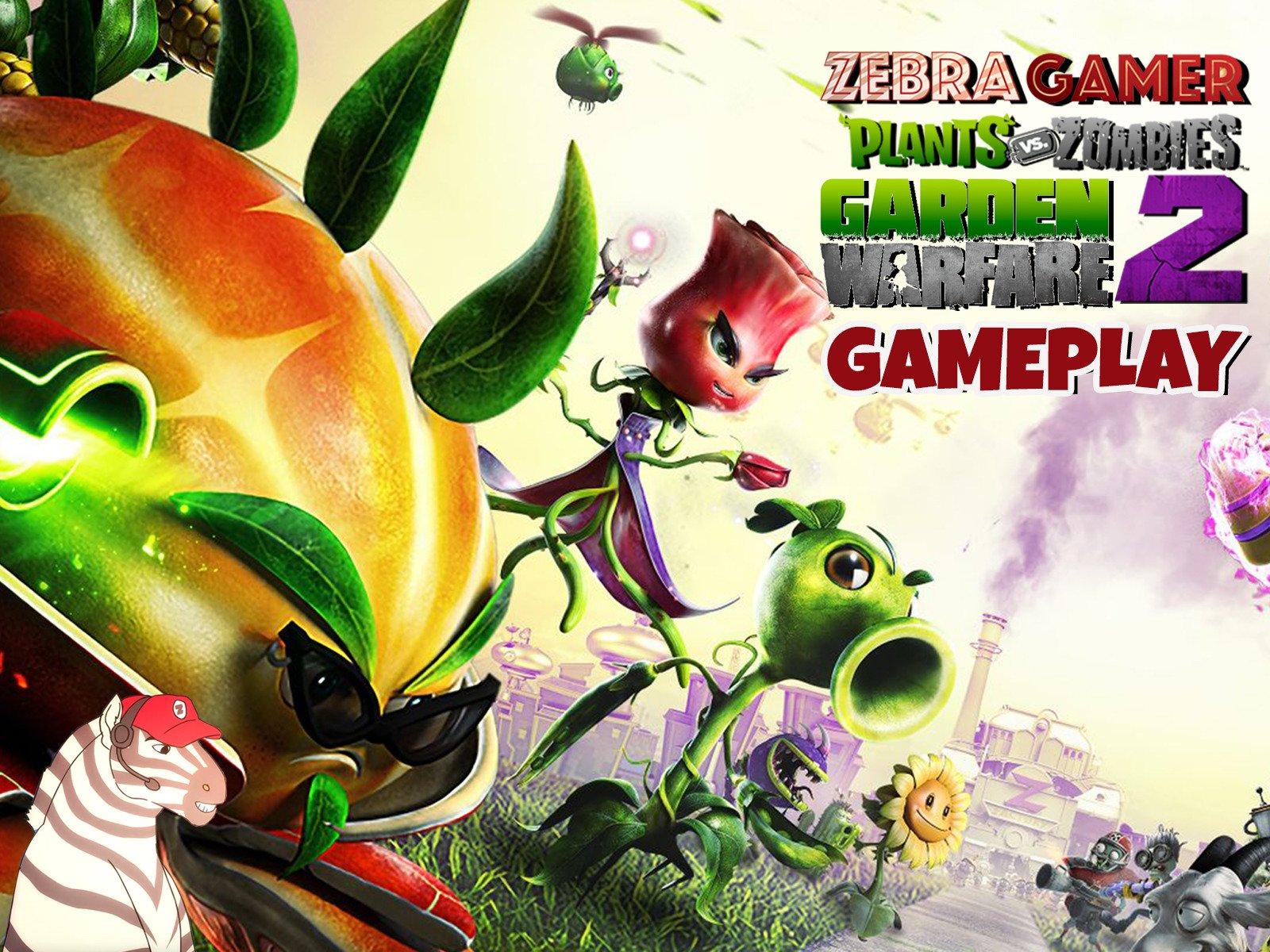Clip: Plants vs. Zombies: Garden Warfare 2 Gameplay - Season 1