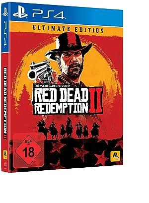 PS4 - Red Dead Redemption 2 - Ultimate Edition - [PAL EU] (Color: C/D-67)