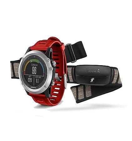 Garmin Fenix 3 Silver GPS HRM-Run-Bundle 010–01338–16 ceinture cardiofréquencemètre