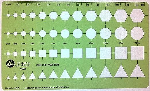 Square Triangle Game Squares Triangles Stencil