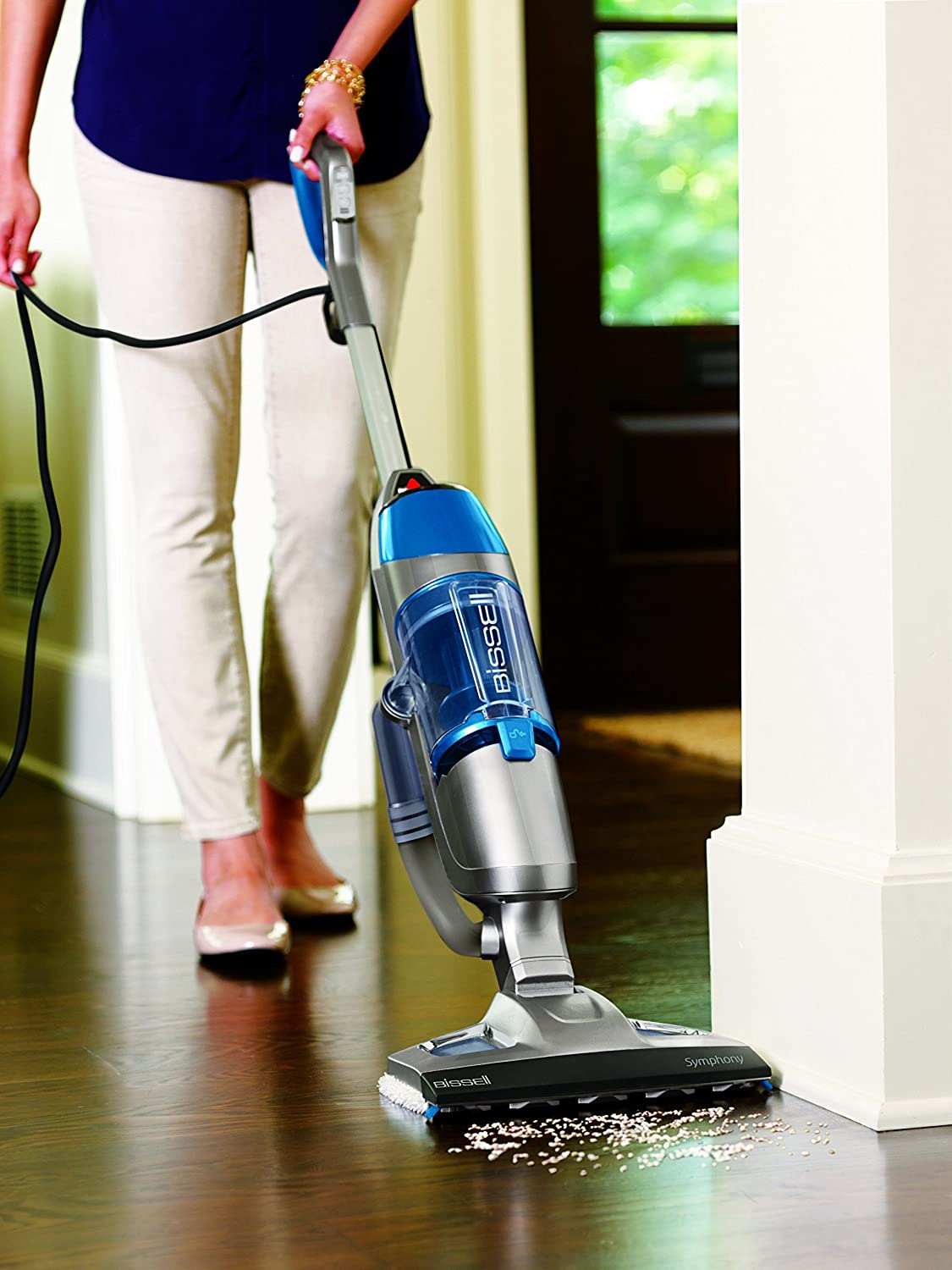 Bissell 1132a Symphony All In One Vacuum And Steam Mop 4