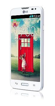 LG Optimus L L70 4GB Smartphone débloqué (4.5 pouces - 4 Go) Blanc (import Espagne)