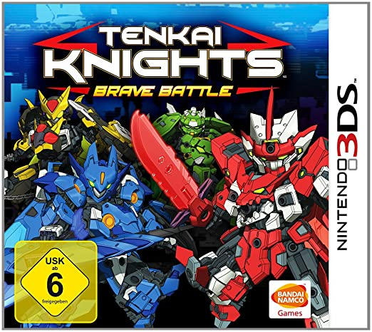 Tenkai Knights - Brave Battle, 3DS
