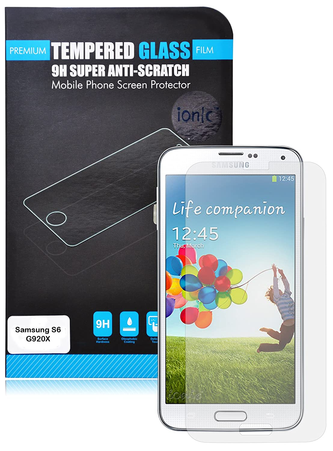 Samsung Galaxy S6 Screen Protector Tempered Glass