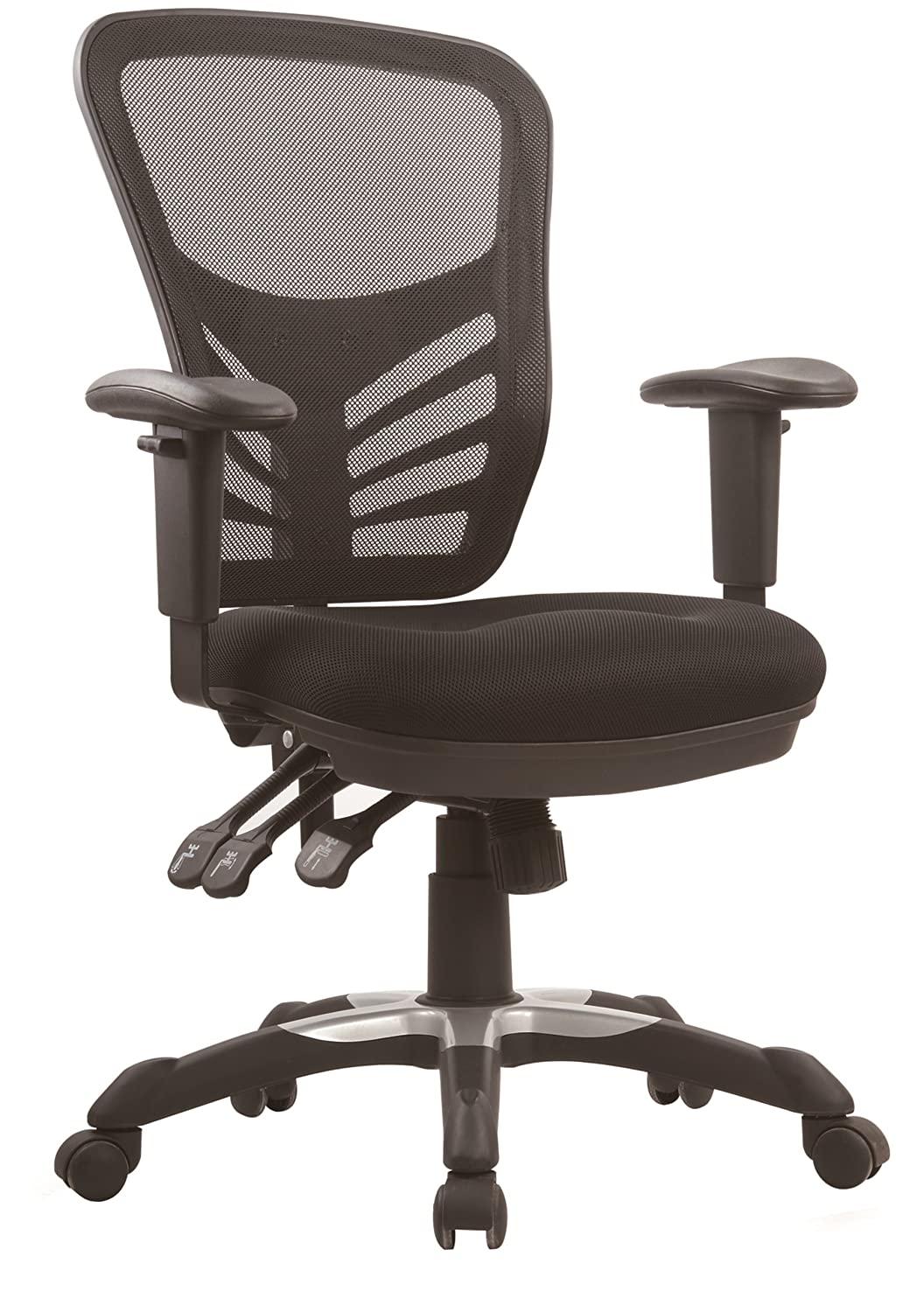 Amazon.com: Home Office Desk Chairs: Home & Kitchen: Adjustable
