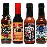 Mad Dog 357 EXTREME Four Bottle Hot Sauce Gift Set