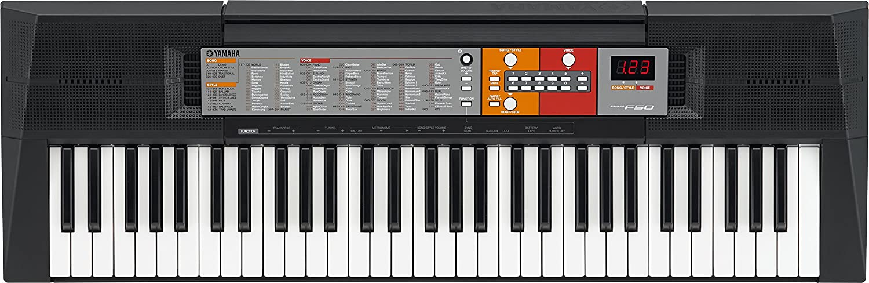 Prezzo sottocosto Yamaha PSR-F50 Tastiera Portatile, 61-Tasti, Display LCD, 6 Watt