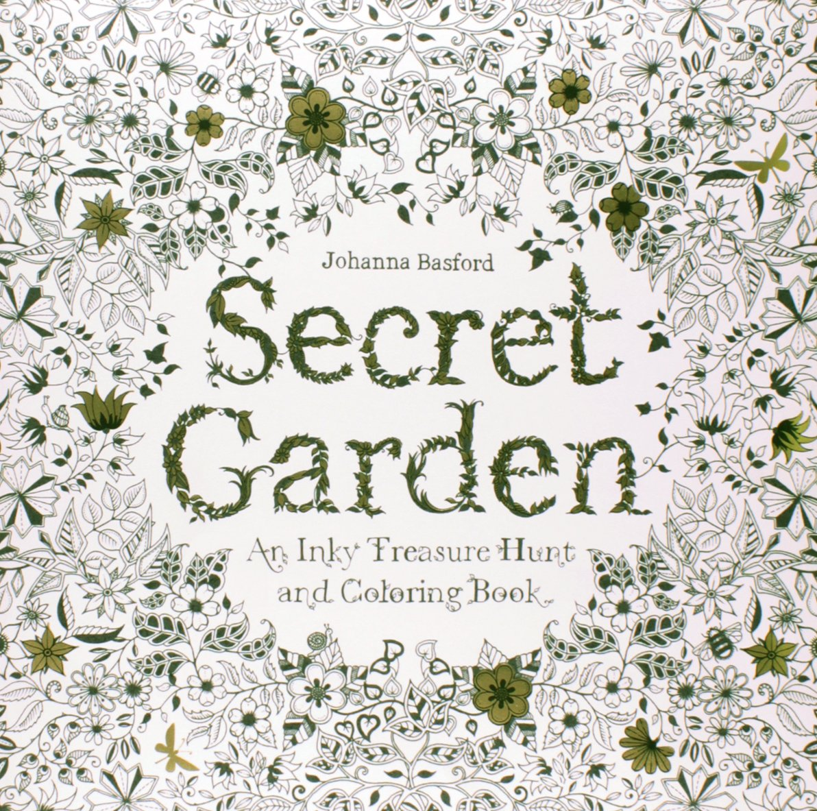 Secret Garden An Inky Treasure Hunt And Coloring Book Singapore