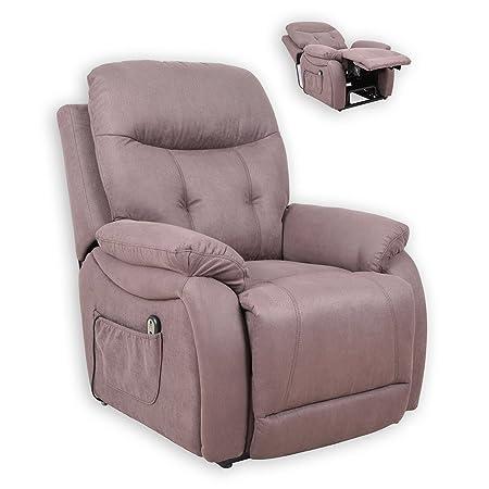 ROLLER TV-Sessel - braun - mit Aufstehhilfe