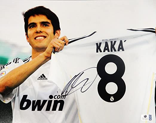 Kaka Hand Signed Autographed Jumbo 11x14 Photo Real