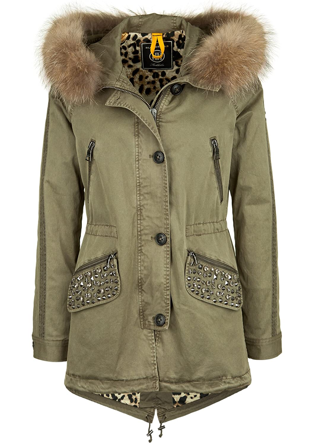 BLONDE No. 8 Parka GSTAAD BLING 515