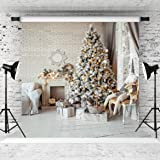 WOLADA 10x10ft Thin Vinyl Photography Christmas Backgrounds Computer Printed Children Photography Backdrops for Photo Studio 10800 (Color: 10800 10x10, Tamaño: 10x10)
