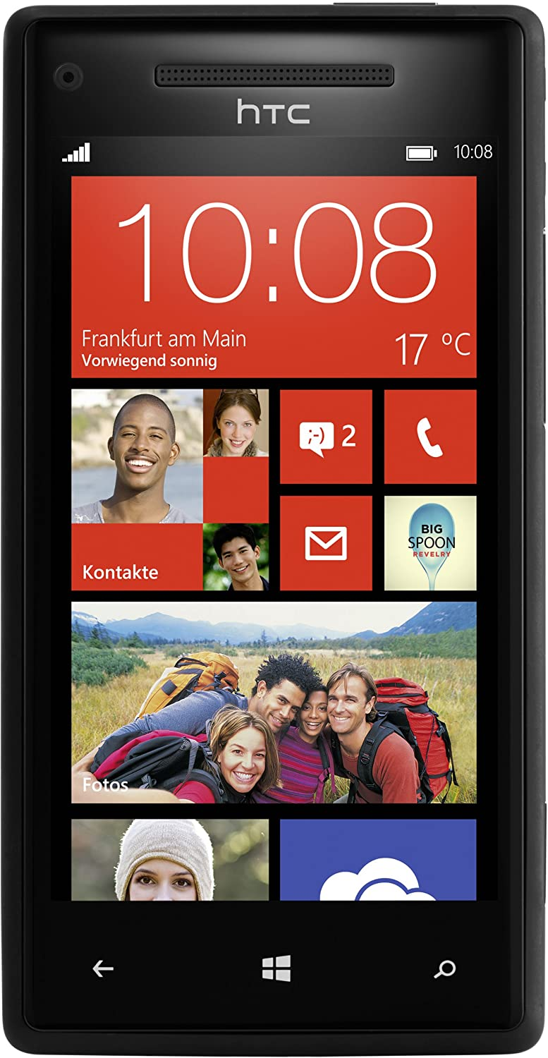 "HTC Windows Phone 8X - Smartphone libre Windows Phone (pantalla 4.3"", cámara 8 Mp, 16 GB, Dual-Core 1 GHz, 1 GB RAM)"