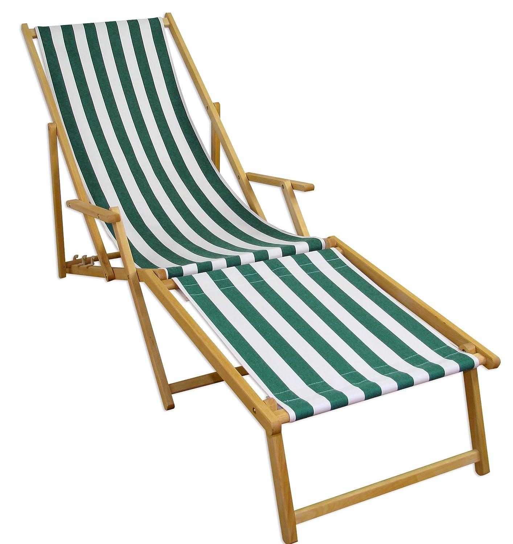 Sonnenliege Gartenliege Deckchair Saunaliege inkl. abnehmbarem Fußteil online bestellen
